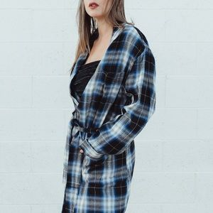 Vintage Plaid Penny Towncraft Robe